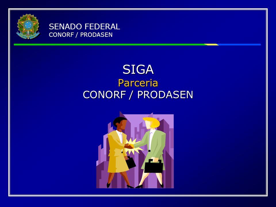 SIGA Parceria CONORF / PRODASEN