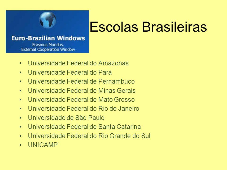 Escolas Brasileiras Universidade Federal do Amazonas