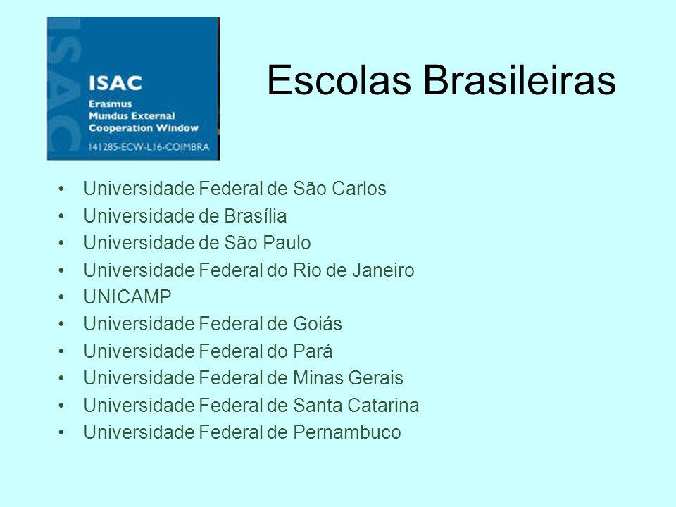 Escolas Brasileiras Universidade Federal de São Carlos