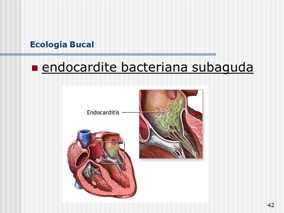 endocardite bacteriana subaguda