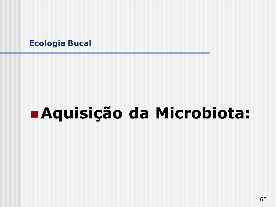 Aquisição da Microbiota: