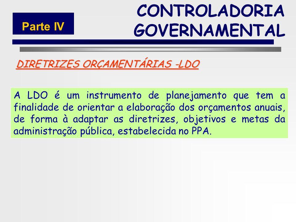 DIRETRIZES ORÇAMENTÁRIAS -LDO