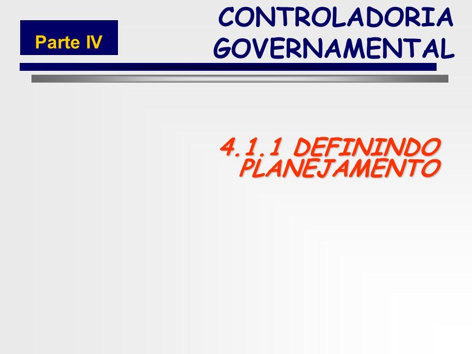 4.1.1 DEFININDO PLANEJAMENTO