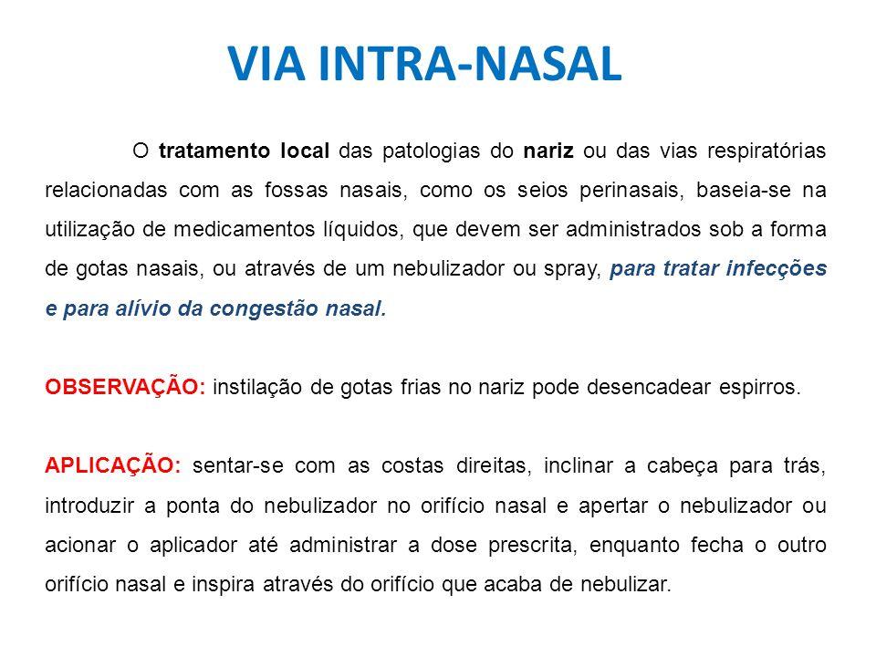 VIA INTRA-NASAL