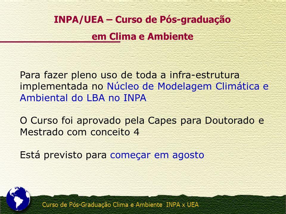 INPA/UEA – Curso de Pós-graduação