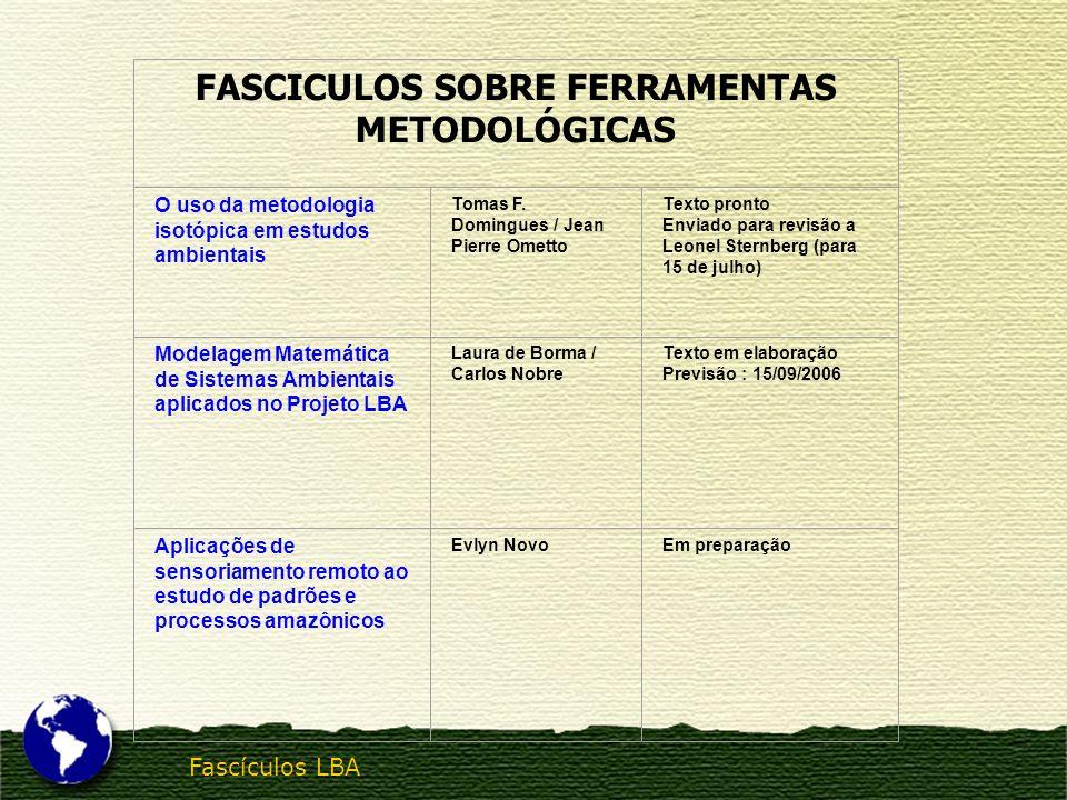 FASCICULOS SOBRE FERRAMENTAS METODOLÓGICAS