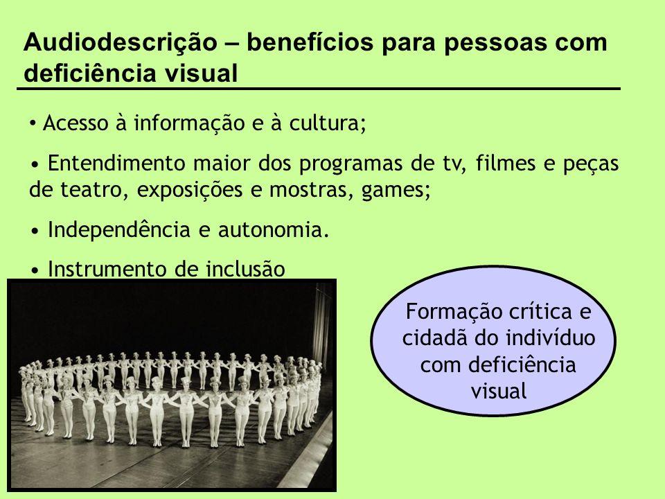 Formação crítica e cidadã do indivíduo com deficiência visual