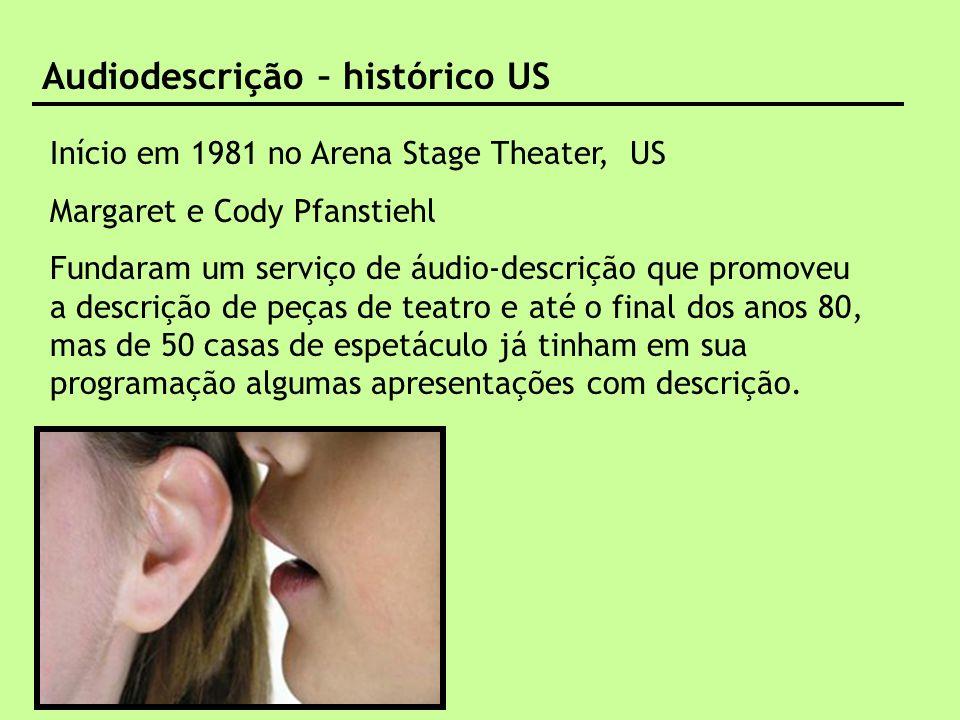 Audiodescrição – histórico US