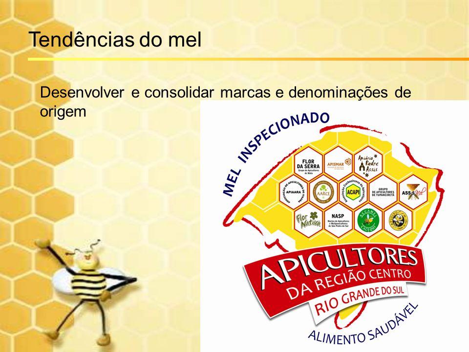 Tendências do mel Desenvolver e consolidar marcas e denominações de origem