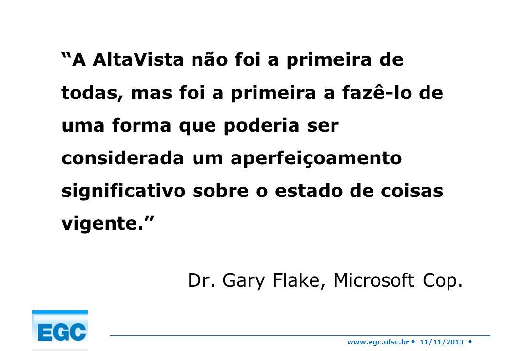 Dr. Gary Flake, Microsoft Cop.