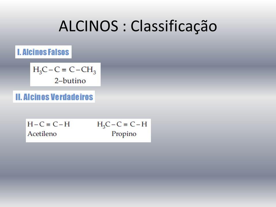 ALCINOS : Classificação