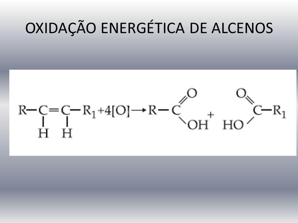 OXIDAÇÃO ENERGÉTICA DE ALCENOS