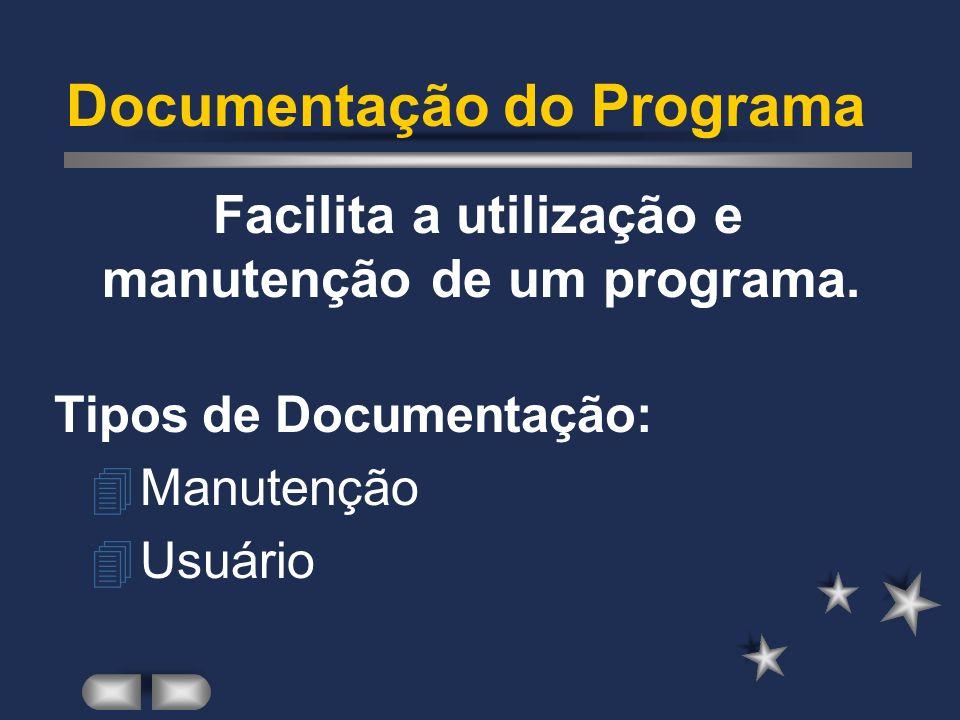 Documentação do Programa