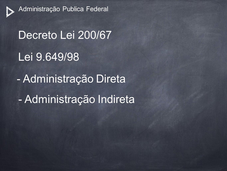 Administração Publica Federal