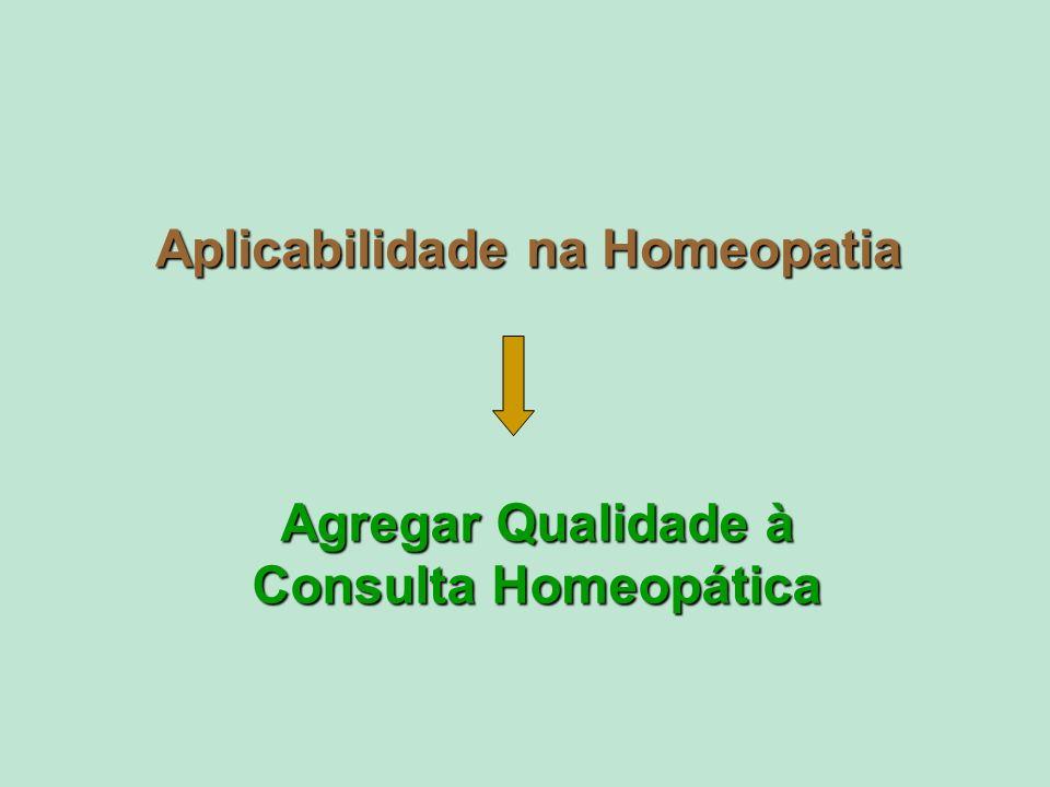 Agregar Qualidade à Consulta Homeopática