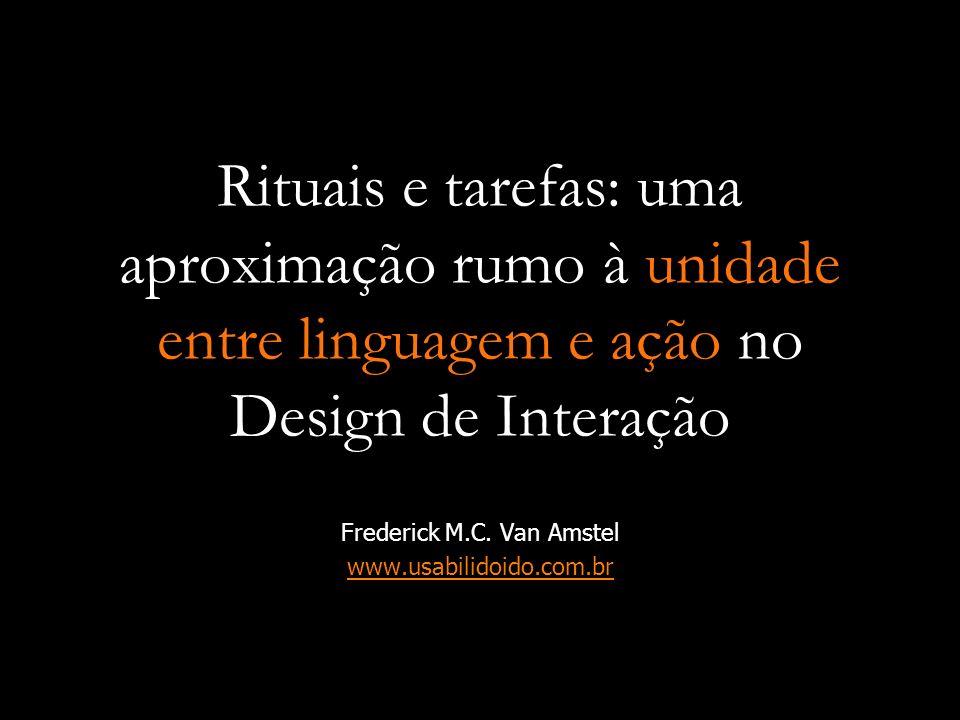 Frederick M.C. Van Amstel www.usabilidoido.com.br