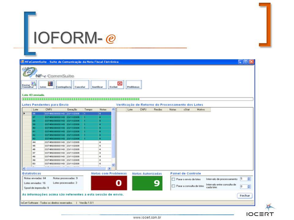 IOFORM- www.iocert.com.br