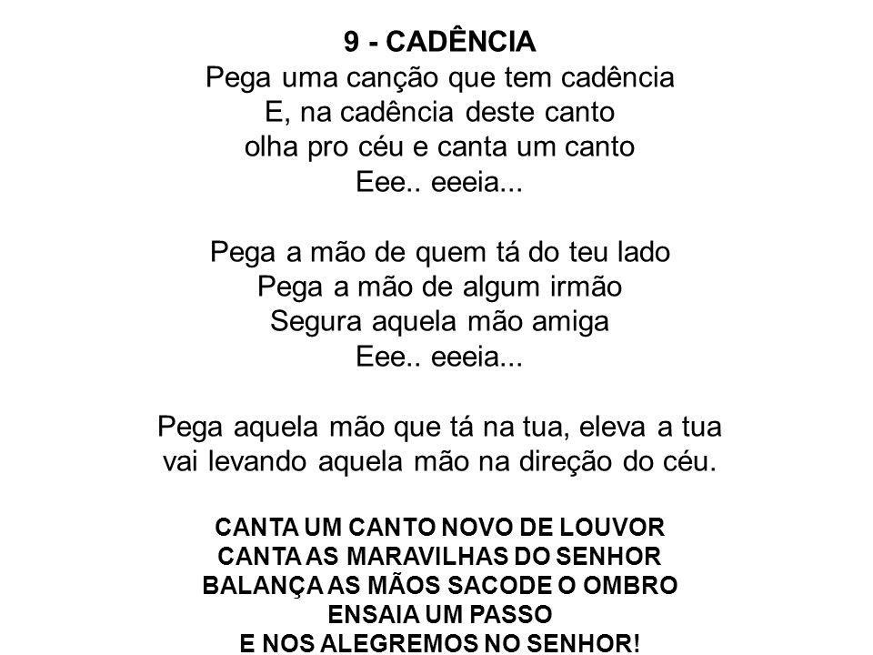 9 - CADÊNCIA