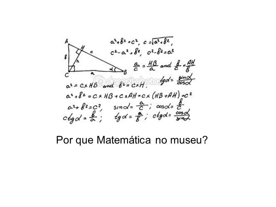 Por que Matemática no museu
