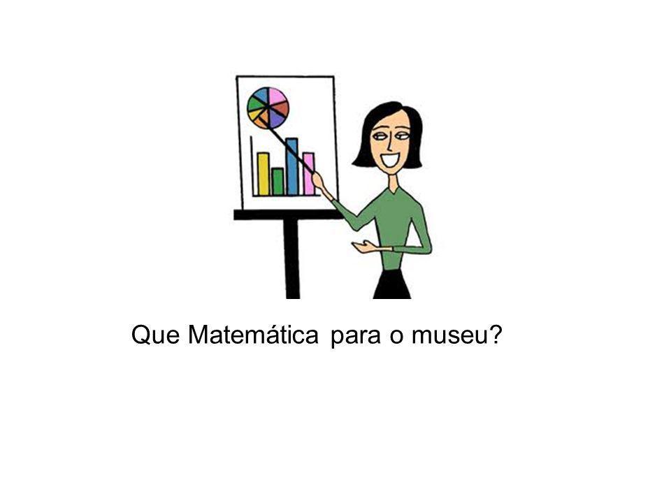 Que Matemática para o museu