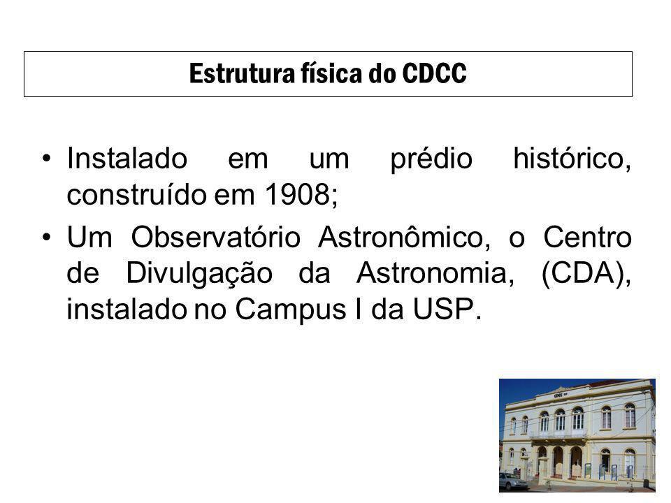 Estrutura física do CDCC