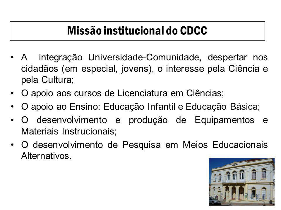 Missão institucional do CDCC