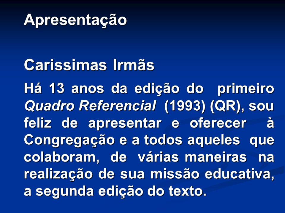 Apresentação Carissimas Irmãs.