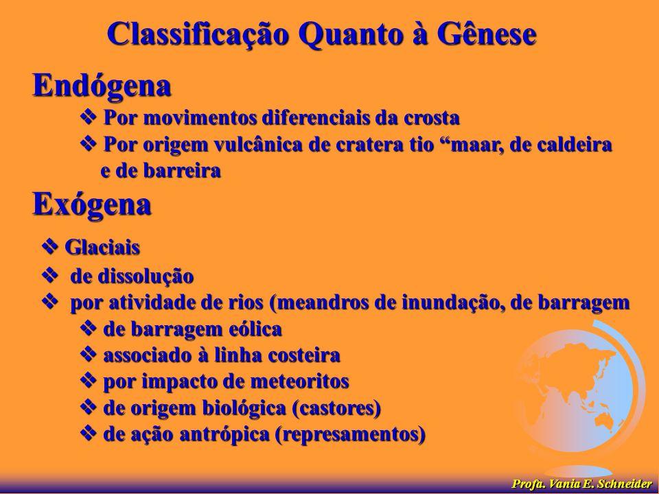 Classificação Quanto à Gênese