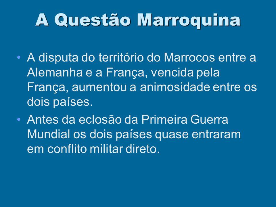 A Questão Marroquina