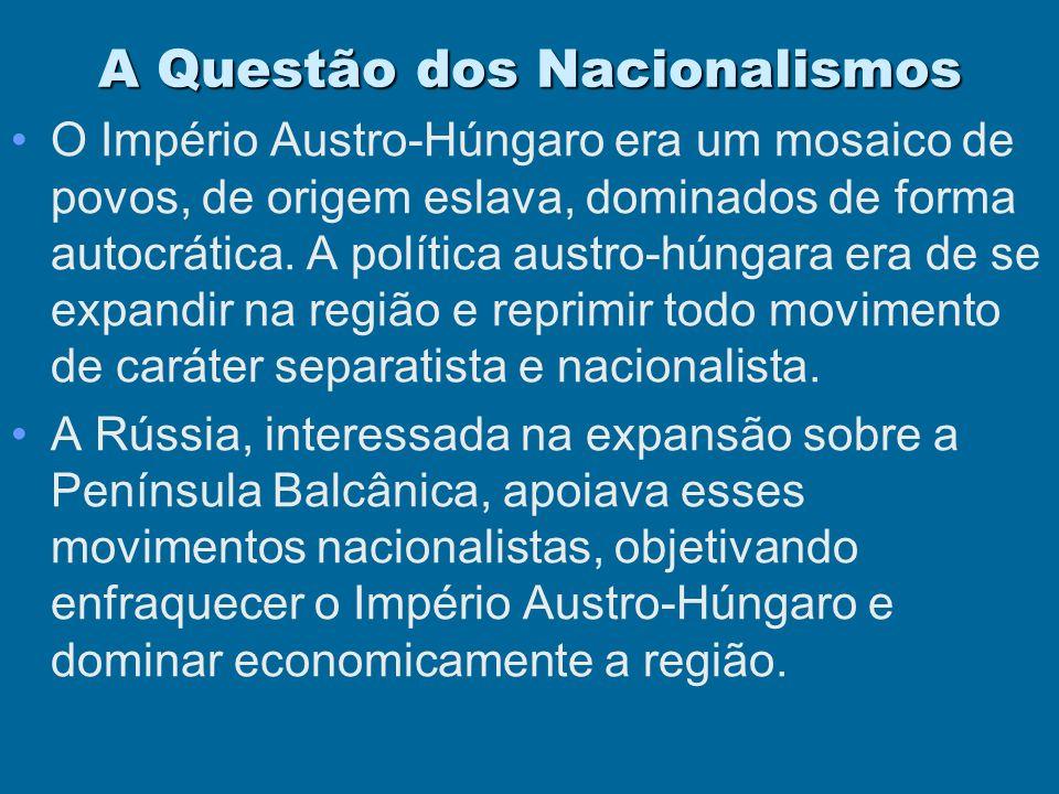 A Questão dos Nacionalismos