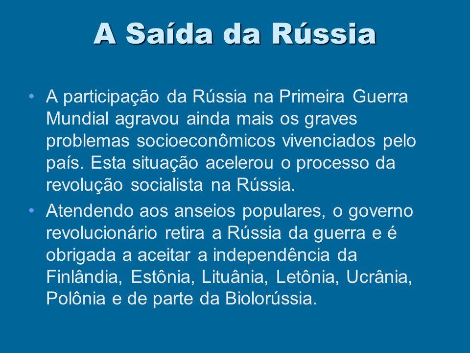 A Saída da Rússia