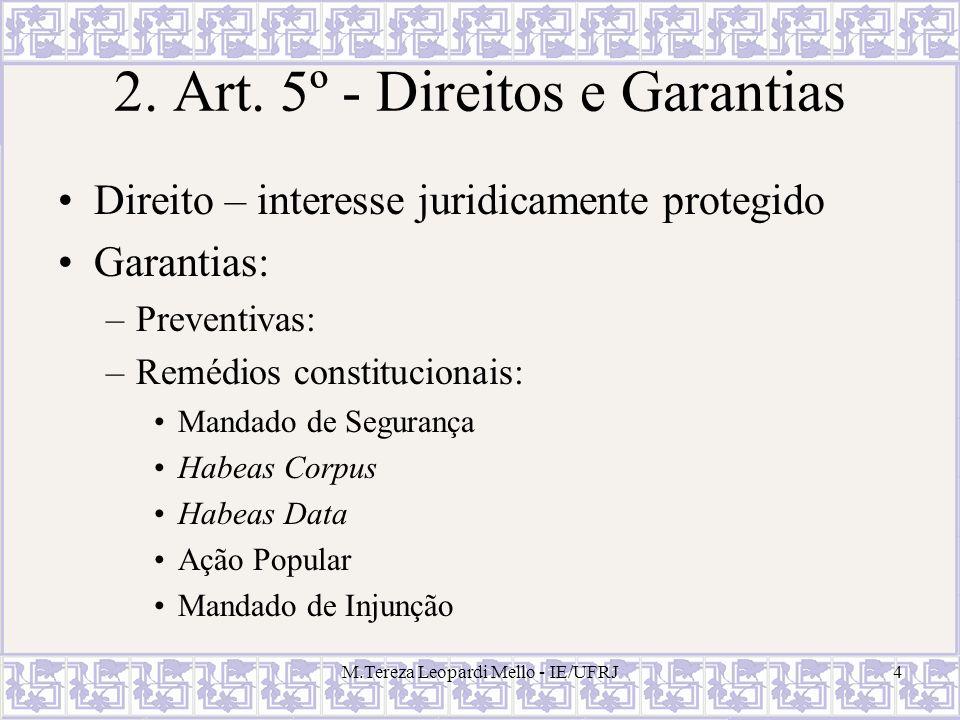 2. Art. 5º - Direitos e Garantias