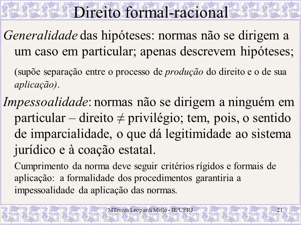 Direito formal-racional