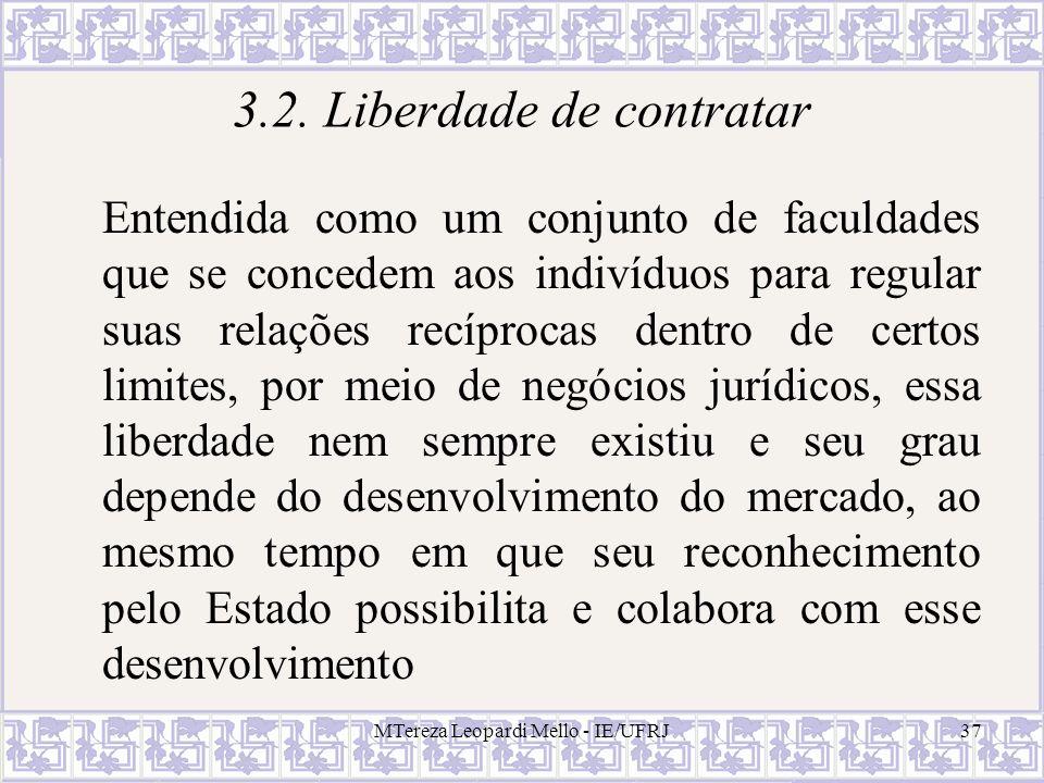 3.2. Liberdade de contratar