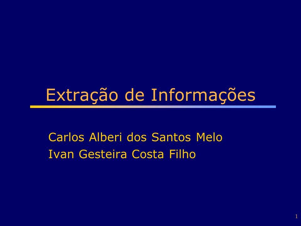 Extração de Informações