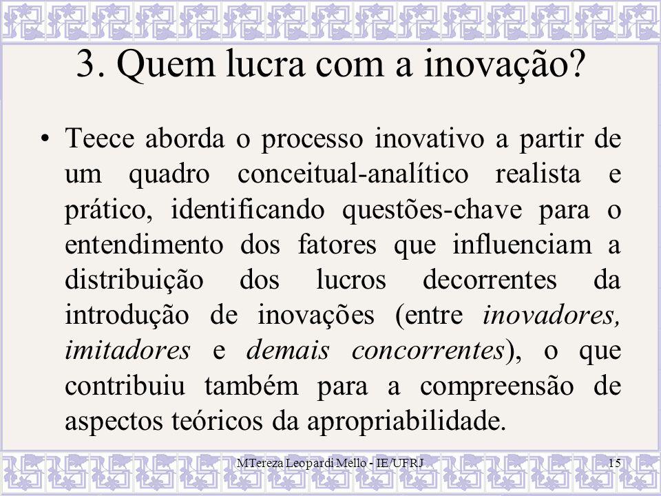 3. Quem lucra com a inovação