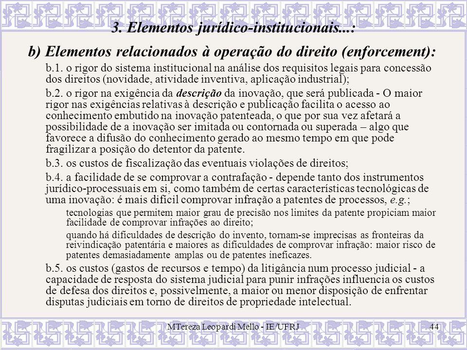 3. Elementos jurídico-institucionais...: