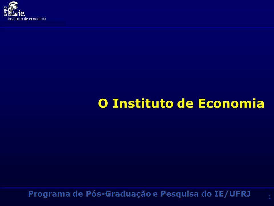 O Instituto de Economia