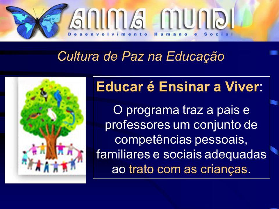 Cultura de Paz na Educação