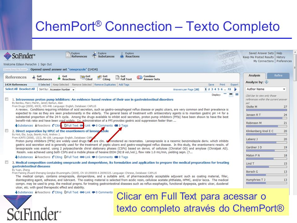 ChemPort® Connection – Texto Completo