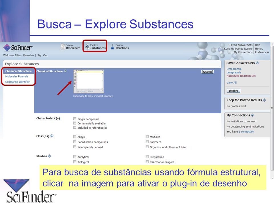 Busca – Explore Substances