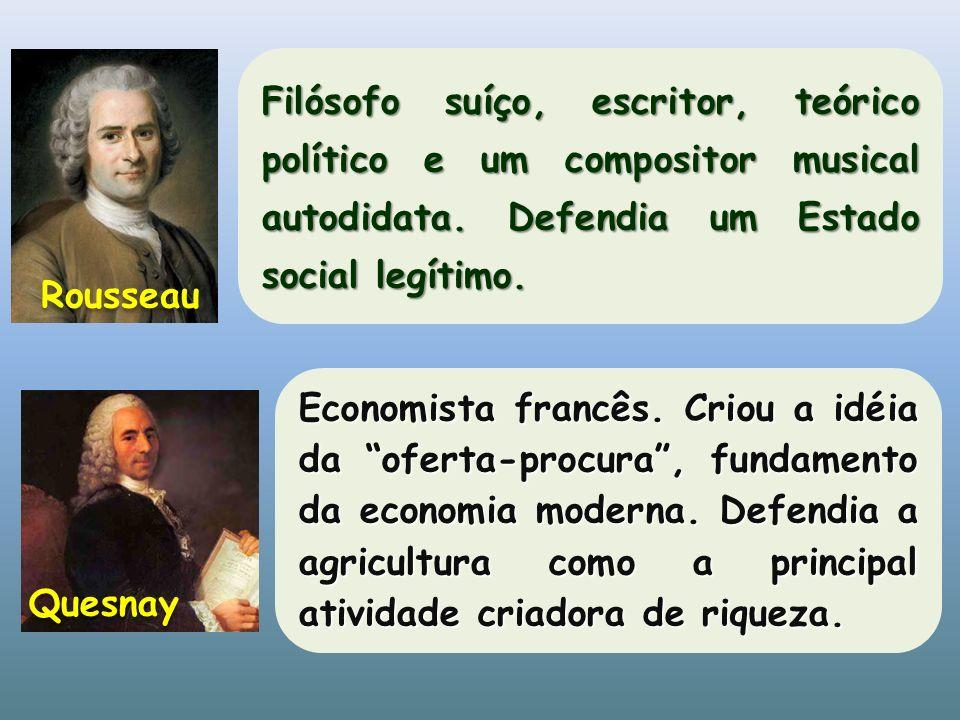 Filósofo suíço, escritor, teórico político e um compositor musical autodidata. Defendia um Estado social legítimo.