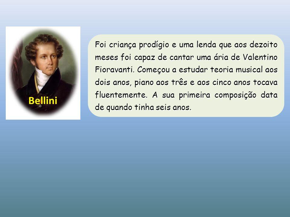 Foi criança prodígio e uma lenda que aos dezoito meses foi capaz de cantar uma ária de Valentino Fioravanti. Começou a estudar teoria musical aos dois anos, piano aos três e aos cinco anos tocava fluentemente. A sua primeira composição data de quando tinha seis anos.