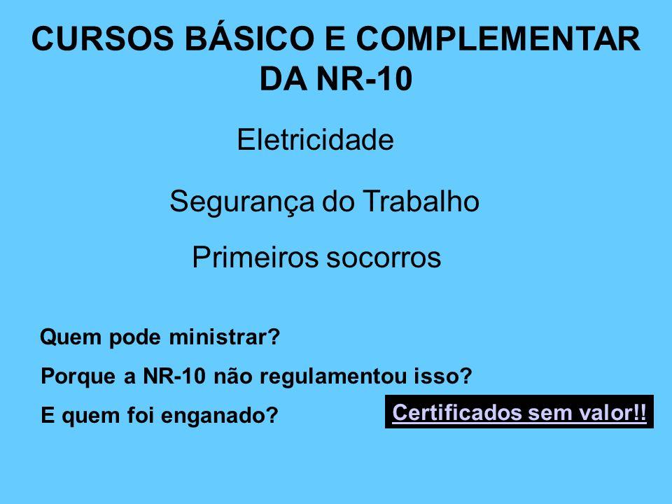 CURSOS BÁSICO E COMPLEMENTAR