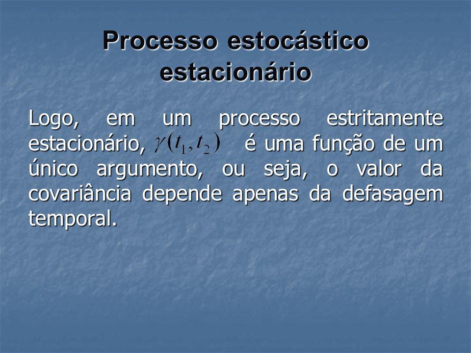 Processo estocástico estacionário