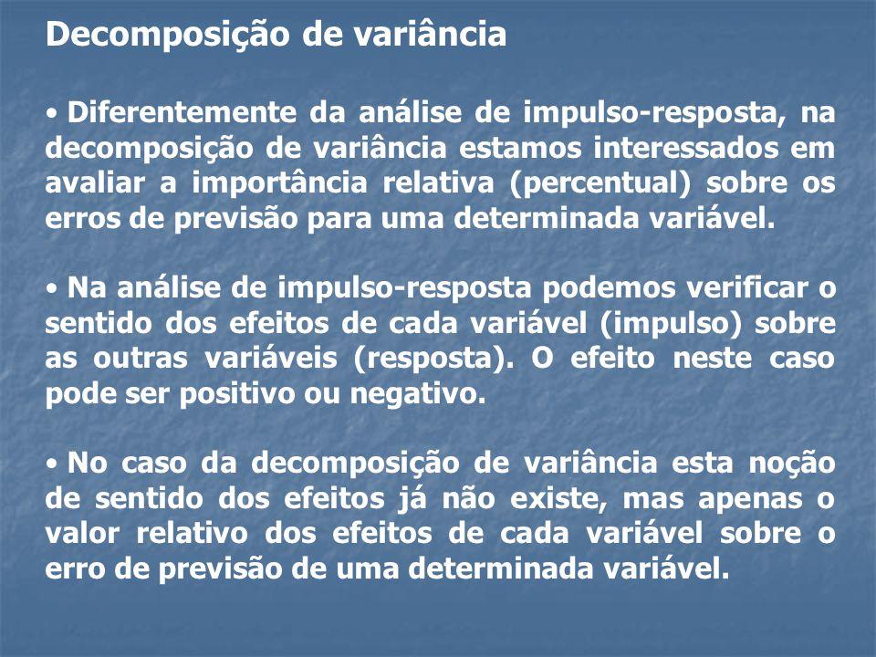 Decomposição de variância