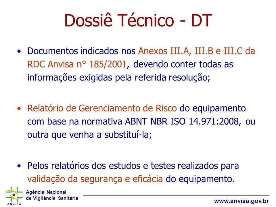 Dossiê Técnico - DT