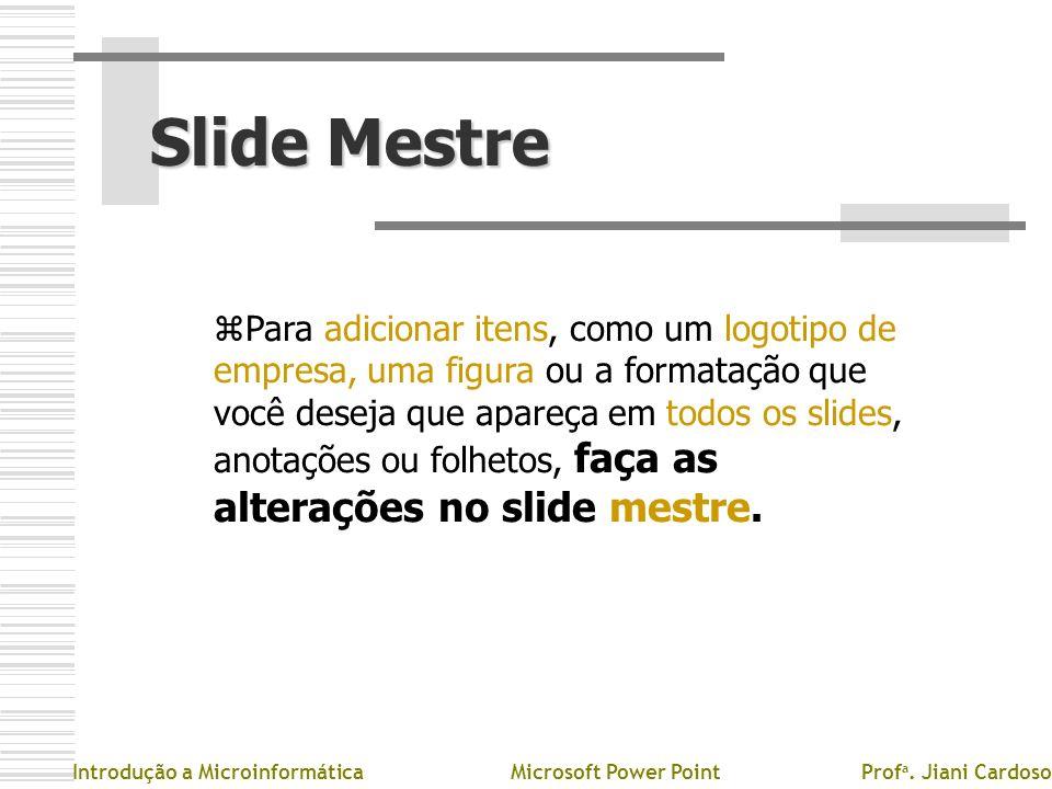 Slide Mestre