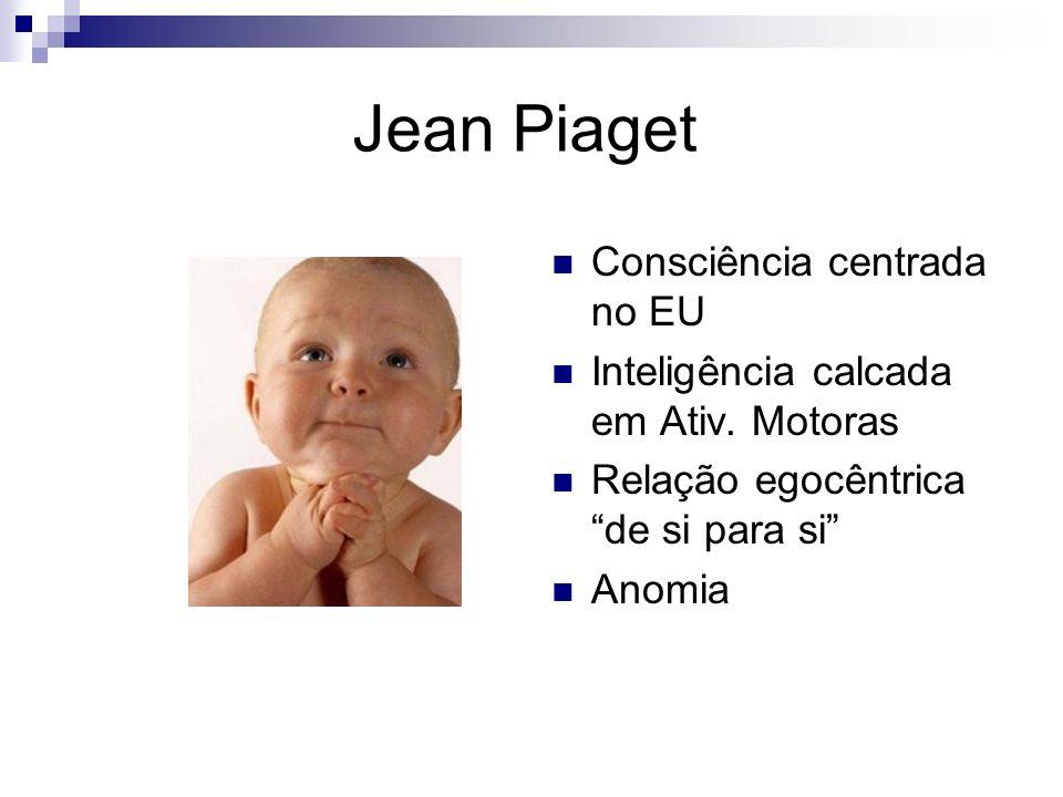 Jean Piaget Consciência centrada no EU
