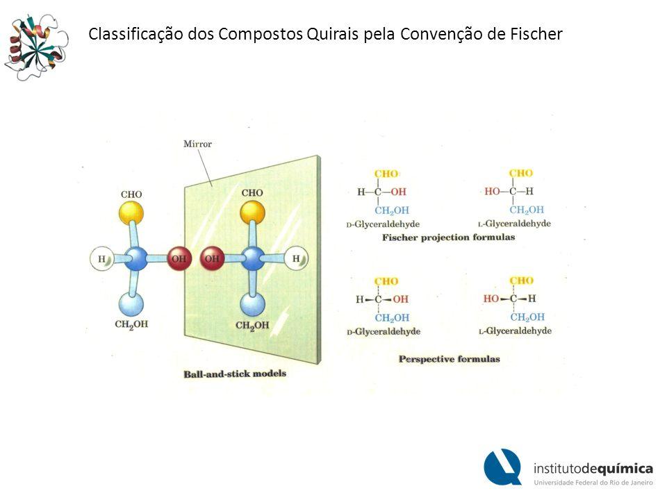 Classificação dos Compostos Quirais pela Convenção de Fischer